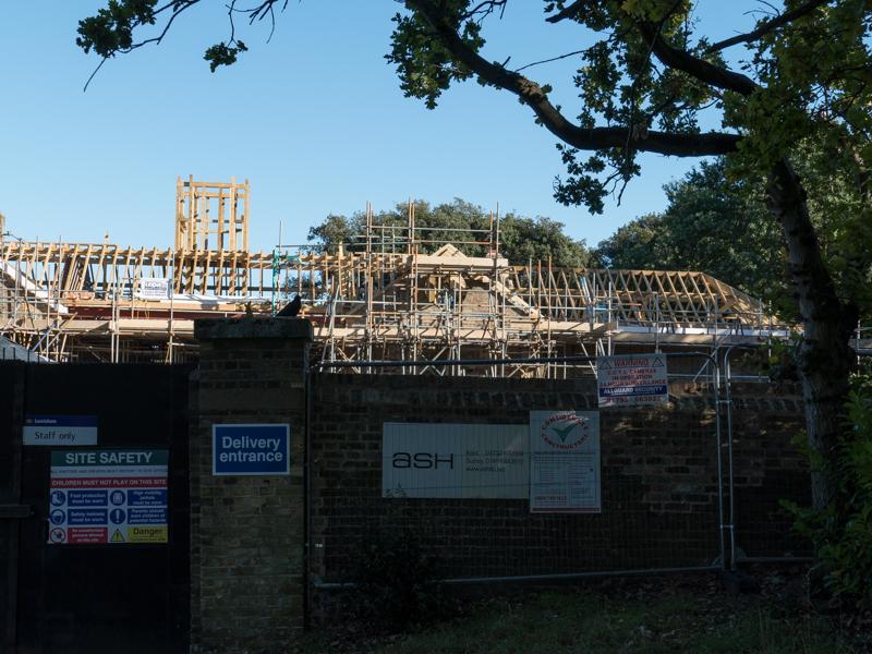Stable block, Beckenham Place Park being regenerated
