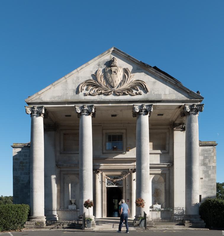Manor House frontage, Beckenham Place Park