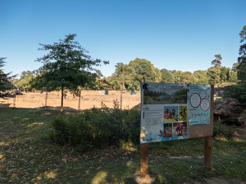 Digging starts on Beckenham Place Park lake